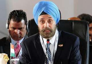 File pic - Indian Ambassador to the US Navtej...