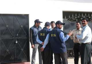 NIA raids 14 places in Kashmir, 8 in Delhi in...