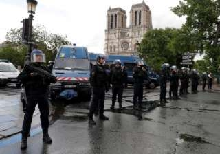 Paris Notre Dame attacker shouted 'this is for...