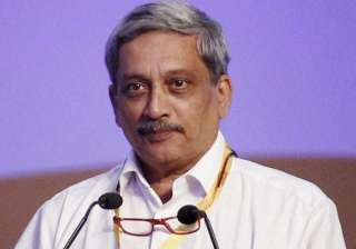 File pic of Goa Chief Minister Manohar Parrikar -...