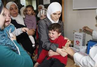 Polio in Syria turns into a challenge - India TV