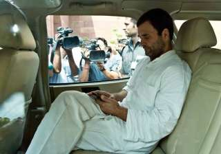 Rahul Gandhi to travel abroad to spend time with...