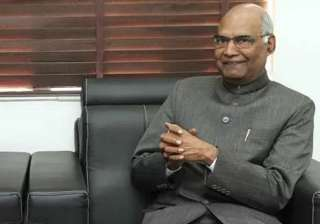 File pic of Ram Nath Kovind - India TV