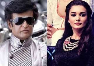 Rajikanth and Amy Jackson to star in 2.0 - India...