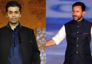 saif ali khan, karan johar - India TV