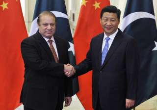 File pic - Nawaz Sharif meets Chinese President...