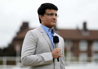 Sourav Ganguly during the ICC Champions Trophy...
