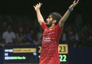 Shuttler Kidambi Srikanth clinches Indonesia Open...