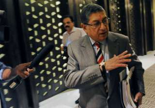 A file image of former BCCI president N...