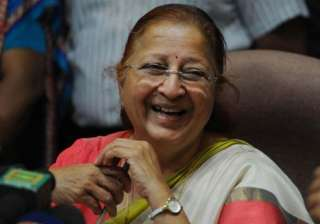 File pic of Speaker Sumitra Mahajan - India TV