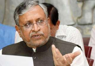BJP leader Sushil Modi - India TV