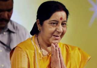 External Affairs Minister Sushma Swaraj - India TV