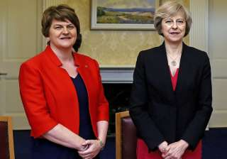 Arlene Foster, leader of emocratic Unionist...