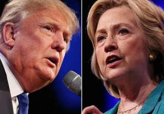 Donald Trump_Hillary Clinton - India TV
