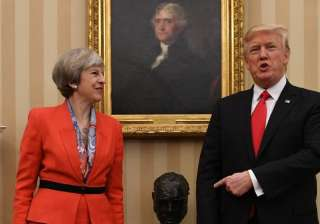 Trump offers 'warm support' to Theresa May after...