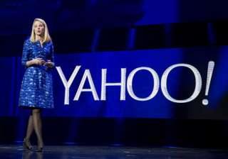 CEO Marissa Mayer walks out of Yahoo with a...