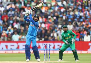 Yuvraj Singh in action against Pakistan in...