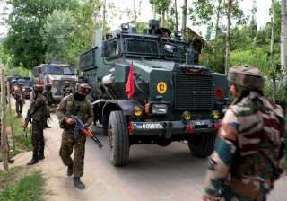Three militants killed in encounter with security...