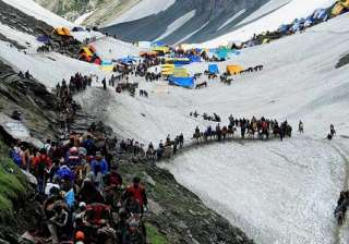 Around 80,000 pilgrims perform Amarnath Yatra in...