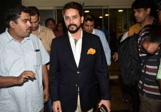 Anurag Thakur, Former BCCI President, coming out...