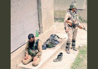 CRPF Srinagar's 'brothers-in-arms for peace' pic...