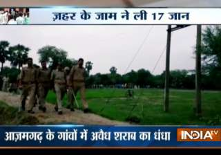 17 die after consuming toddy in Azamgarh; 9...
