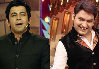 Kapil Sharma and Sunil Grover TKSS - India TV