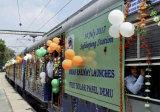Railways launches first DEMU train with...