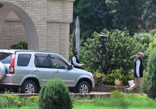 New Delhi: ED officials during a raid conducted...