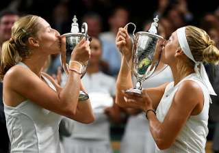 Wimbledon Women's Doubles Final - India TV
