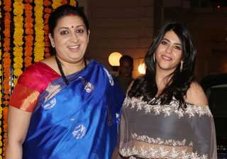 Ekta Kapoor, Smriti Irani - India TV