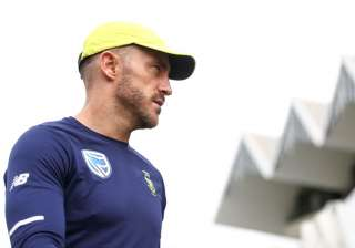 Faf du Plessis of South Africa - India TV
