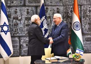 'I' for 'I': India for Israel, says PM...