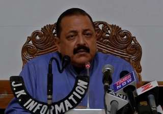 Jitendra Singh - India TV