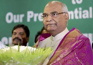 NDA presidential nominee Ram Nath Kovind - India...