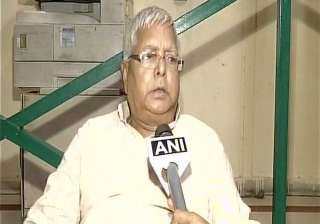 RJD supremo Lalu Prasad Yadav - India TV