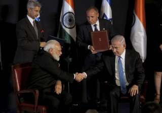 India, Israel ink 7 agreements on PM Narendra...