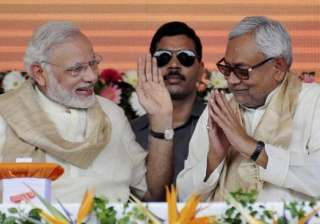 Nitish said he was aware of the criticism that...