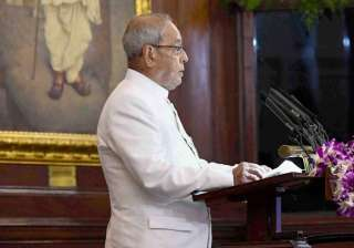 President Mukherjee addresses special session of...
