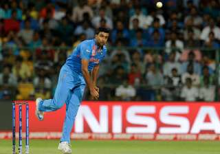Ravichandran Ashwin of India in action during a...