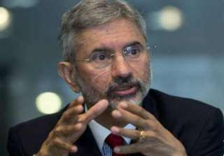 Indian Foreign secretary S Jaishankar