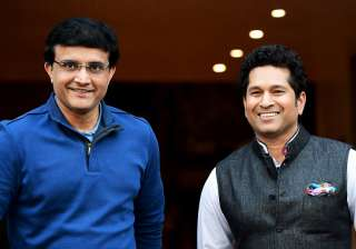 Sachin Tendulkar and Sourav Ganguly shares a...