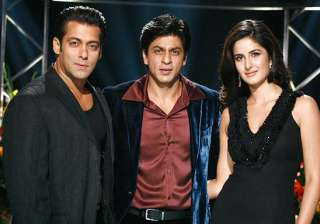 Salman Khan, Katrina Kaif, Shah Rukh Khan - India TV
