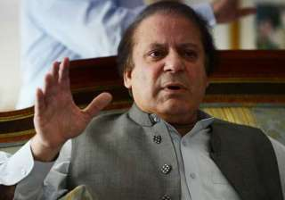 File pic of Pak PM Nawaz Sharif - India TV