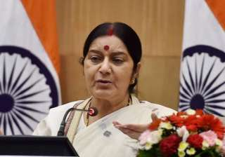 Sushma Swaraj slammed Sartaj Aziz for not...