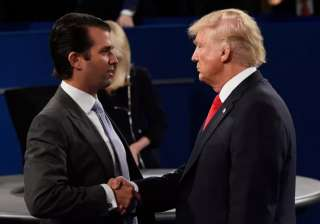 Donald Trump defends son for 'transparency' over...