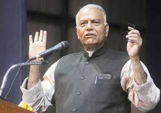 File pic of BJP leader Yashwant Sinha - India TV