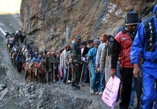 File photo - Amarnath Yatra pilgrims - India TV