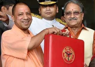 Yogi Adityanath's government presented its first...
