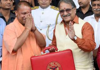 Yogi Adityanath govt presents budget of Rs 3.84...